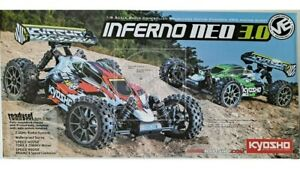 Kyosho Inferno Neo 3.0 VE T2 Red RTR Brushless 2.4GHz 34108T2