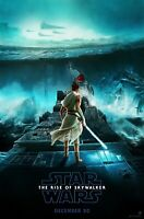 """New Art Print Of Movie Poster 2019 """"Star Wars : The Rise of Skywalker"""" (4 Sizes)"""