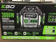 EGO PST3042 3000 Watt Battery-Powered Portable Generator Power Station ((2) 7.5