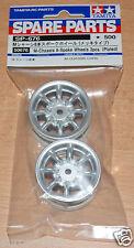Tamiya 50676 Rover Mini Cooper 94 Monte Carlo Plated Wheels, M01/M03/M04/M05/M06