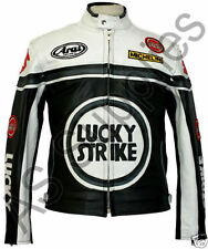 Kleidungen, Helme und Schutze für Motorräder in Weiß