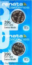 2 pc 390 Renata Watch Batteries SR1130SW FREE SHIP 0% MERCURY