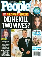 2014 People Magazine: Harold Hentorn Did He Kill 2 Wives/Kate's Visit to America