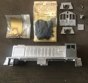 Vintage Cary ALCO for Athearn S-2, S-4 Cast Metal HO Diesel Body Kit Unbuilt