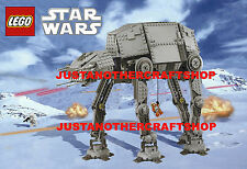 Lego AT-AT Star Wars A3 Large Size Poster Shop Display Sign Advert Leaflet