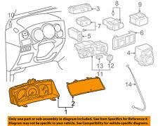 TOYOTA OEM 06-07 Corolla-Instrument Panel Dash Gauge Cluster 8380002D40
