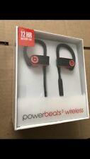 Beats by Dr. Dre Powerbeats3 Wireless Ear-Hook Headphones - Red Water Resistant