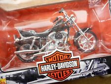 NEW  HARLEY- DAVIDSON MOTORCYCLES  - 1:18TH DIE-CAST  #41