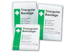 "1 NEW TRIANGULAR BANDAGES ARM SLING 36""x36""x51"" SEALED"