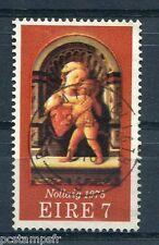 IRLANDE - 1975, timbre 336, NOEL, TABLEAU LIPPI, oblitéré