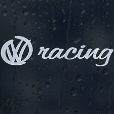 Racing Car Laptop Decal Vinyl Sticker VW Passat Golf Jetta Polo Touareg Beetle