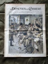 La Domenica del Corriere 14 Gennaio 1906 Soldati russi Debreczin Scuole di legno