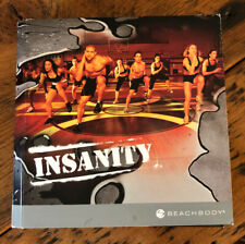 INSANITY 60 Day Total Body Fitness Workout Program Disc DVD Set Beach Body
