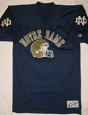 Sweet Rare Vintage Champion Notre Dame Football Jersey - Size Large