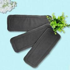 Bamboo Fiber Baby Cloth Diaper Inserts Liners Soaker Pads Réutilisable Washable G