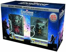The Guardians of the Galaxy 3D+2D BluRay Exclusive Prestige+2 Figures New&Sealed
