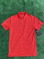 NWT Men's Nike Dri-FIT Vapor Wing Golf Cooling Polo Shirt Jacquard Red CI9780 S