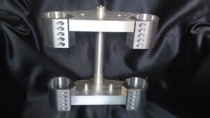 Billet 'Reverse Thug' Fork Yokes for any bike to take any front end Triple Trees