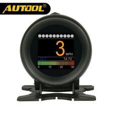 AUTOOL X60 OBD 2 OBD2 Medidor HUD Temperatura Agua Velocidad Voltaje Metros etc.
