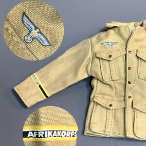 "21st Century 1/6 Afrika Korps Uniform For 12"" DRAGON GI JOE Soldier Figures Toy"