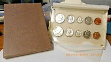 Uncirculated 1964 United States P & D Mint Set in Hard Plastic capsule casing