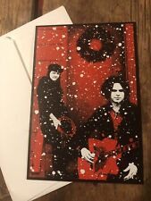 Rare Merry Christmas From The White Stripes Card Vault