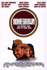 Homegrown Original Movie Poster 27X40 Billy Bob Thornton, Video 27x40