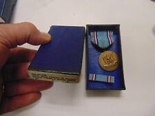 Genuine Full Size Us Military Medal In Original Box Air Force Good Conduct