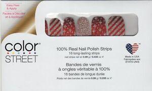 CS Nail Strips Wrap it Up Holiday 2020 100% Nail Polish - USA Made!
