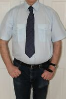 portwest S101 short sleeve pilot shirt with epaulets coach driver security +++