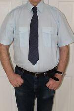 portwest S101 short sleeve pilot shirt with epaulets coach driver security +++
