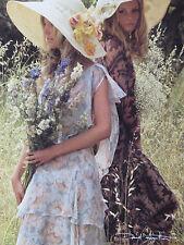 Carte Postale   DAVID  HAMILTON   Postcard  Femme  Woman  Chapeaux  Fleurs