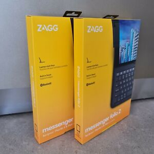 ZAGG Messenger Folio 2 Case with Keyboard for iPad 7th & 8th Gen and iPad Air 3