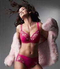 Fantasie FL 2102 Evie Semi-Sheer Underwire Balcony Bra Hot Pink 32G NEW