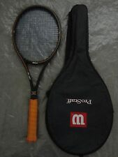 RARE! #1 Wilson ProStaff MidSize PWS Tennis Racket Grip 4 5/8 VG!