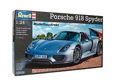 Porsche 918 Spyder Maßstab 1:24 Revell 07026 Bausatz NEU & OVP