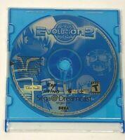 Evolution 2 for Sega Dreamcast / Disc Only / Tested / Rare