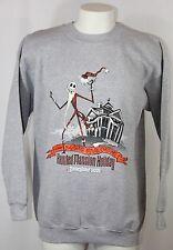 Disneyland 2001 Nightmare Before Christmas Haunted Mansion Jack Sweatshirt Men L