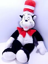 Cat in Hat Build A Bear Plush Dr. Suess 22 inches tall Stuffed Animal Black Hat