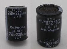 Rubycon Capacitor 250v 220uf (m) CE 105 C VXR