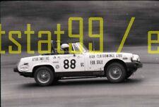 MG Race Car #88 - Vintage Race 35mm Negative