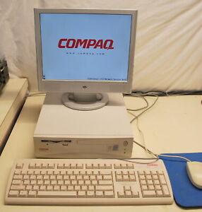 Vintage Compaq DeskPro Works with Next Openstep Software Ships Worldwide