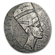 5 oncia 999 Moneta d'argento Repubblica of Chad Regina Nofretete 2017 3000