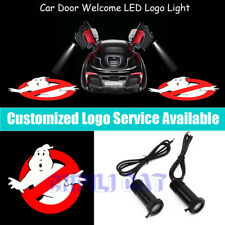 2Pcs Extreme Ghostbusters Logo Car Door Welcome Laser Projector Shadow LED Light