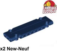 Lego technic - 2x Panel Panneau Plate plaque 3x11x1 bleu f/dark blue 15458 NEUF