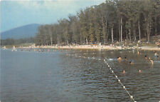 BOONSBORO MD 1965 Beach Area on Greenbrier Lake @ Greenbrier State Park rl447