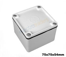Adaptable Weatherproof Electrical Junction Box 75mm x 75mm x 54mm IP66/IP55