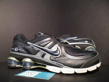 2009 NIKE SHOX EXPERIENCE + II 2 BLACK ROYAL BLUE SILVER GREY R4 343594-001 10