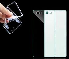 für Sony Xperia Transparent Schutzhülle Silikon Handy Hülle Cover Case Tasche