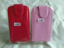 FLIP   Faux LEATHER CASE BLACKBERRY CURVE 9320, Red or Pink